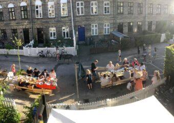 Fællesspisning i gaden 2020